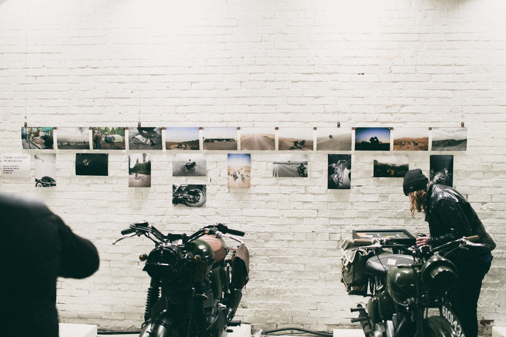 James and I printed photos of this show for display at the 2014   One Motorcycle Show   in Portland.