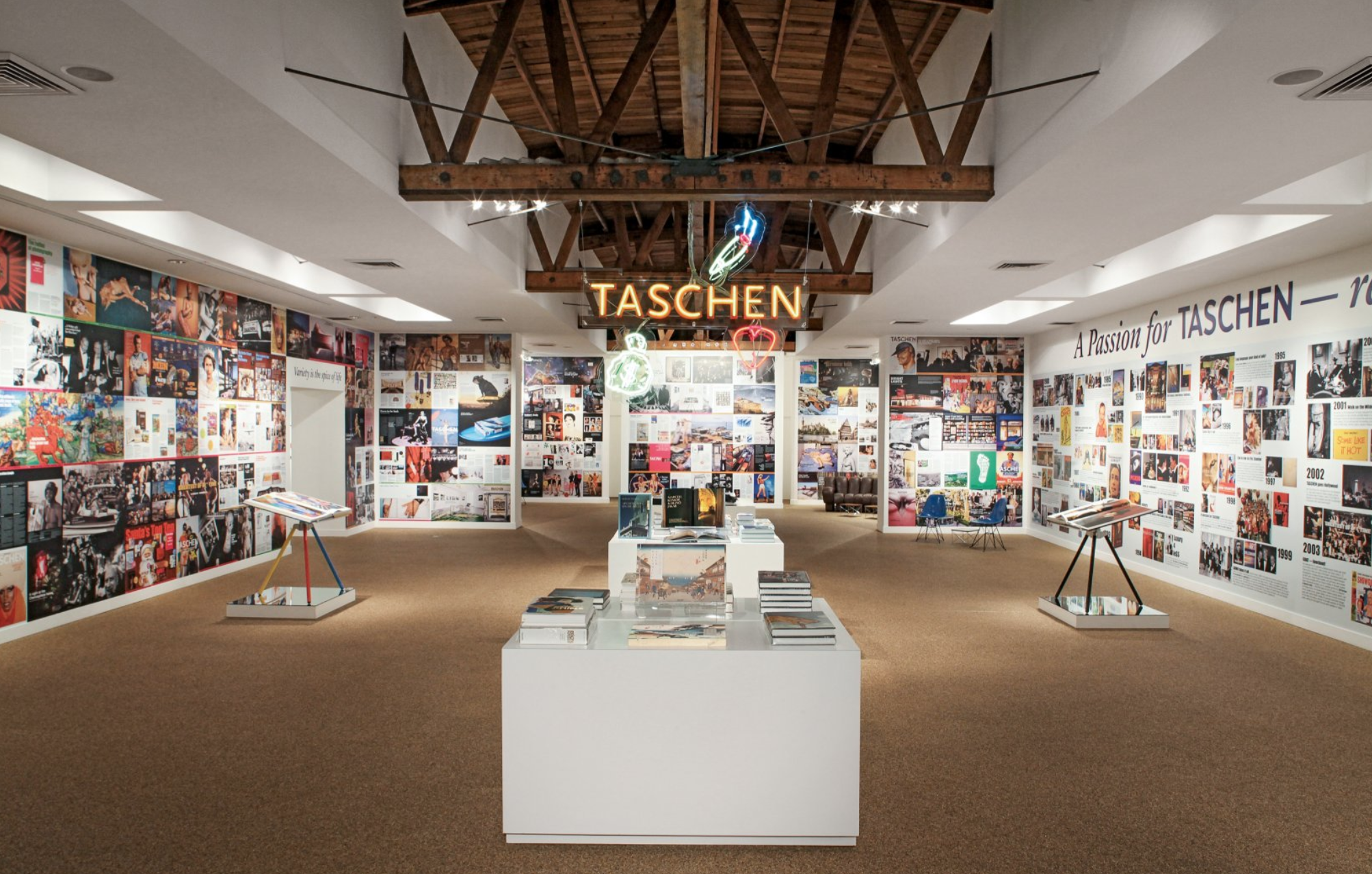 """Gallery Interior for """"A Passion For Taschen"""""""