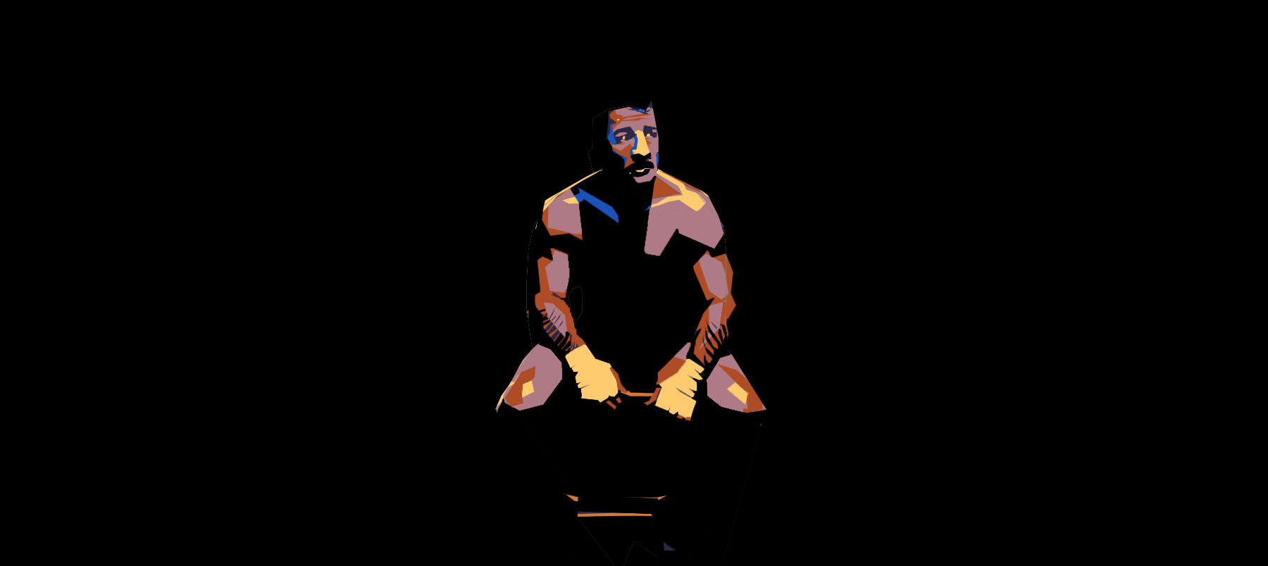 Untitled (Boxer) (Stanley Kubrick)