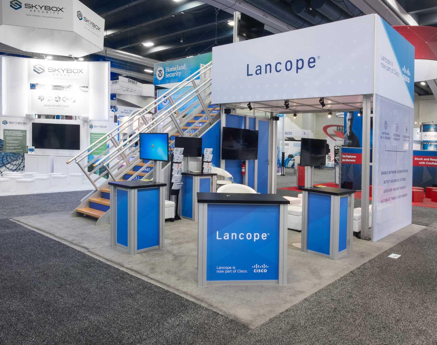 Cisco / Lancope double deck, 2016