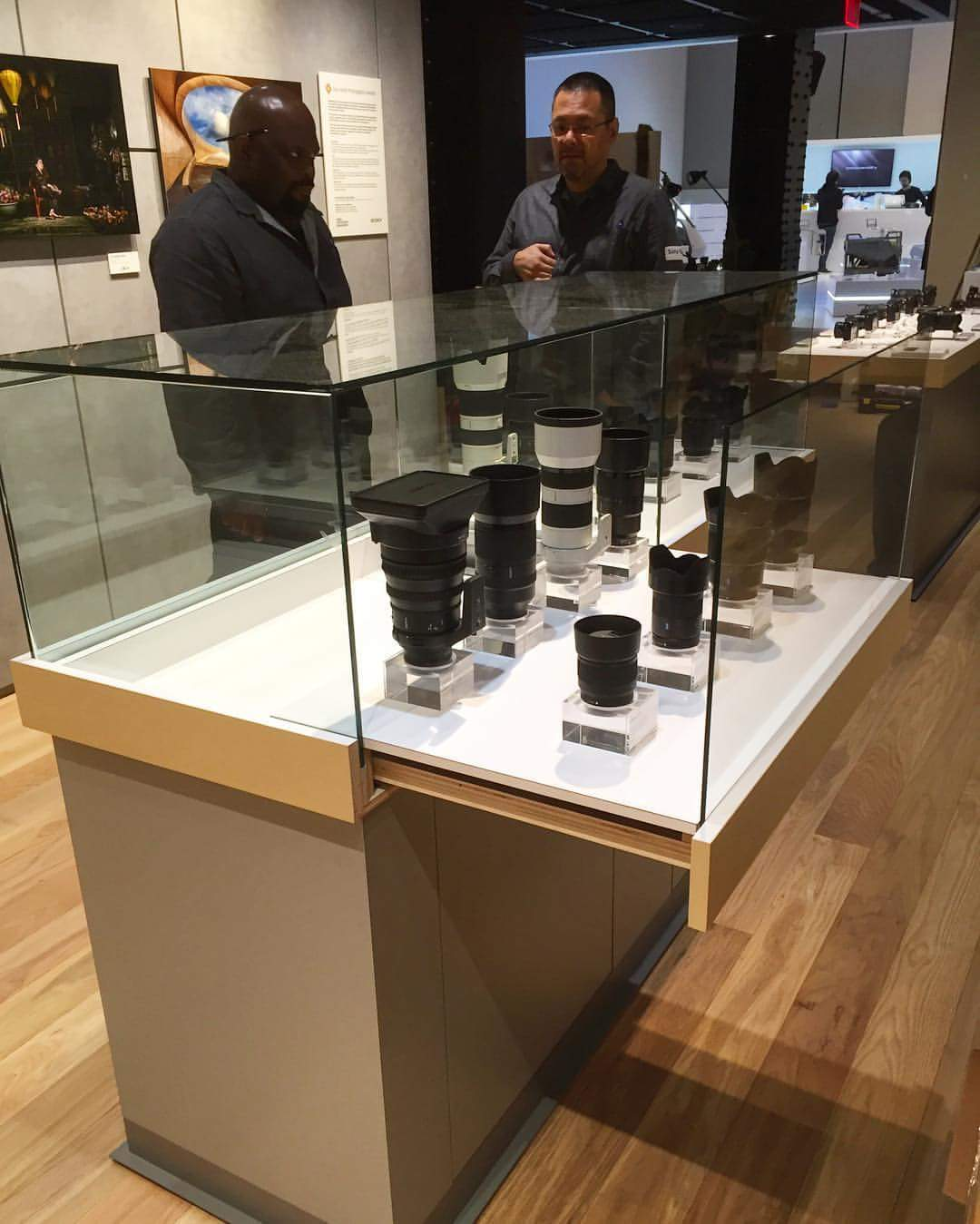Sony Square display units