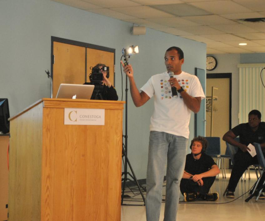 All about Foursquare: Conestoga College Social Media Summit 2012