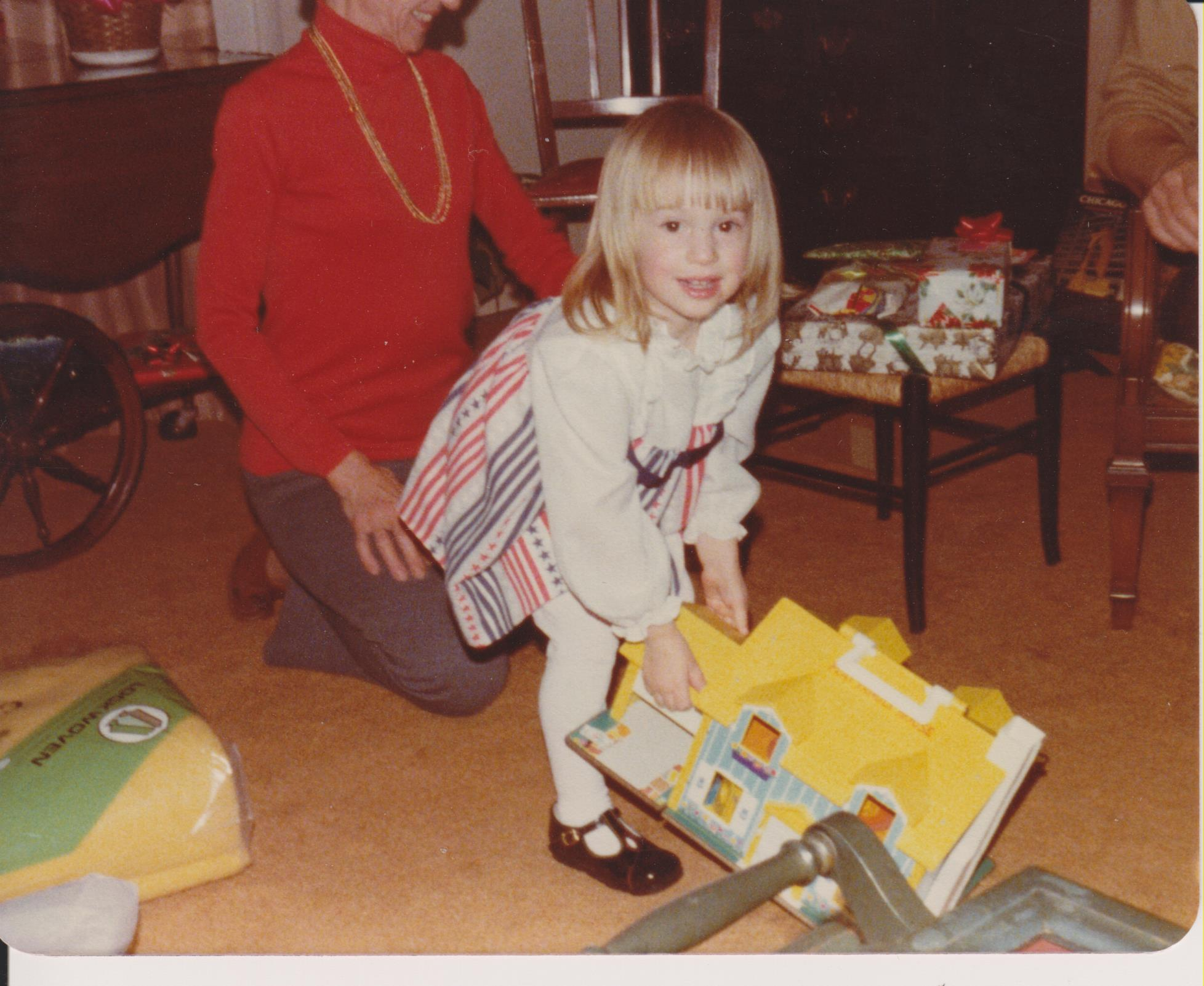 Me and my money house, circa late '70s