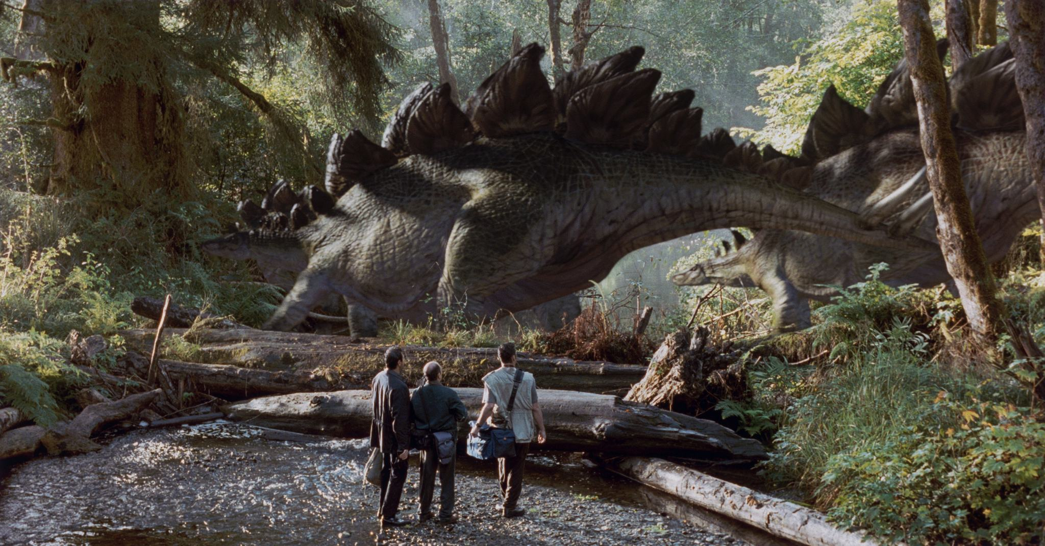 Composite from Jurassic Park: The Lost World.