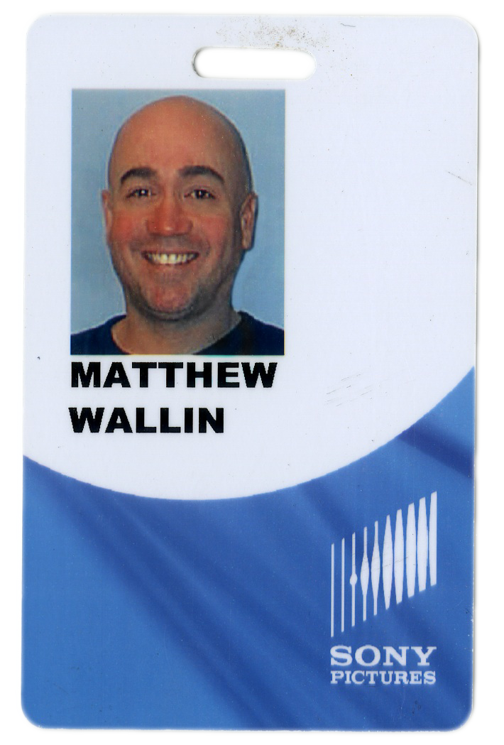 My old Sony Imageworks ID.