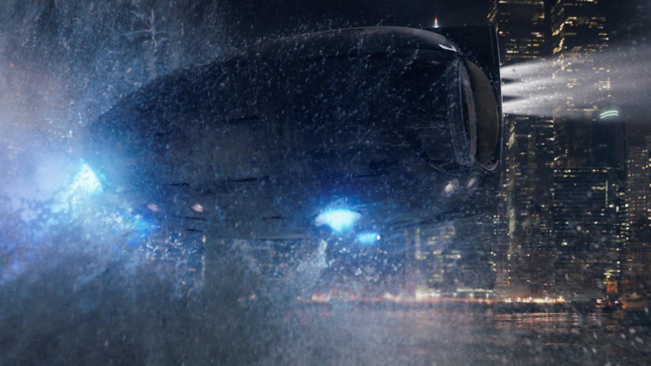 CA113. Shot of the owl ship from The Watchmen. I worked on this shot for the entire time I was on the show.