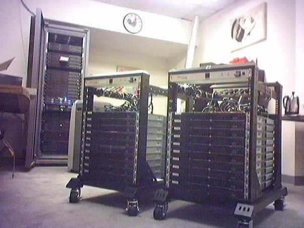 The portable render farm we used on Drawing Restraint 9.