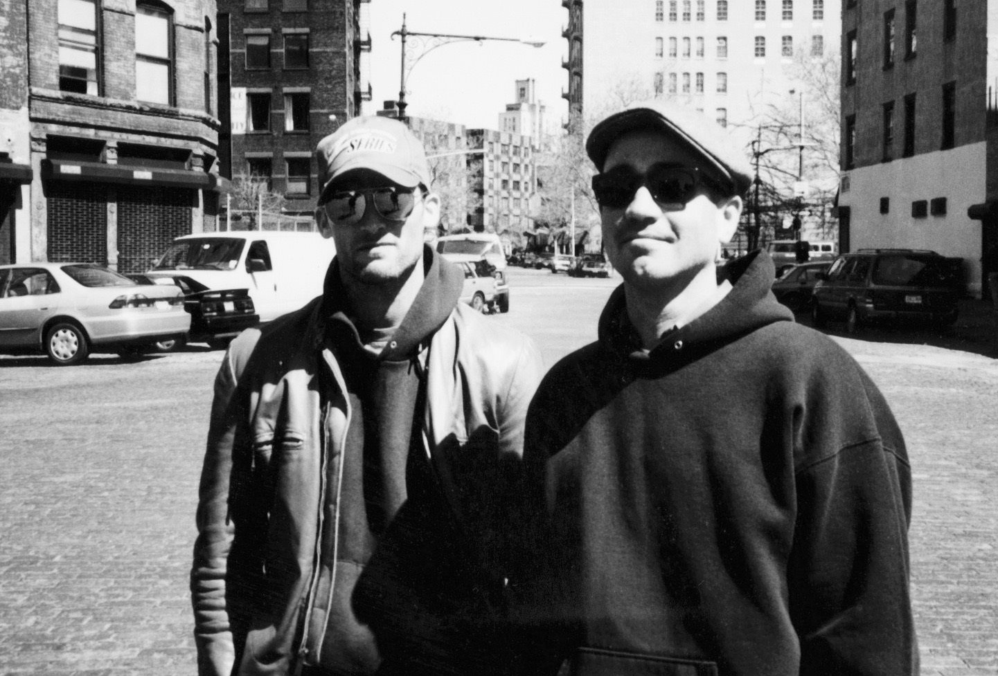 With Matthew Barney in NYC, circa 2000 while working as the Visual Effects Supervisor on Barney's  Cremaster Cycle .