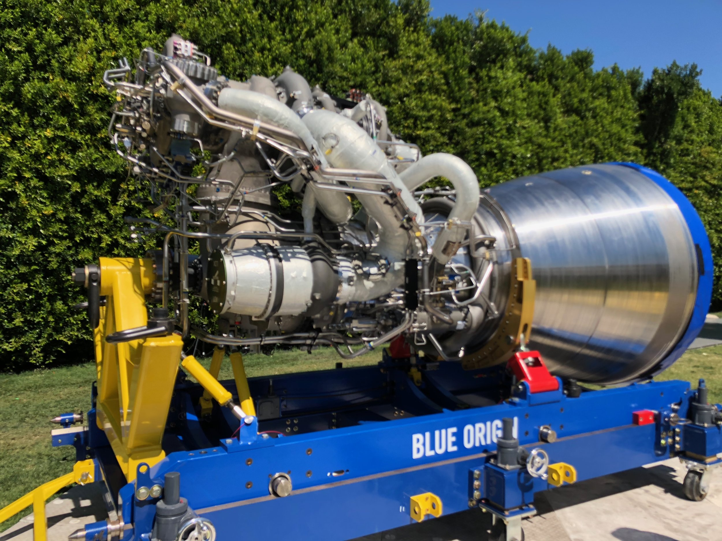 Blue Origin rocket engine