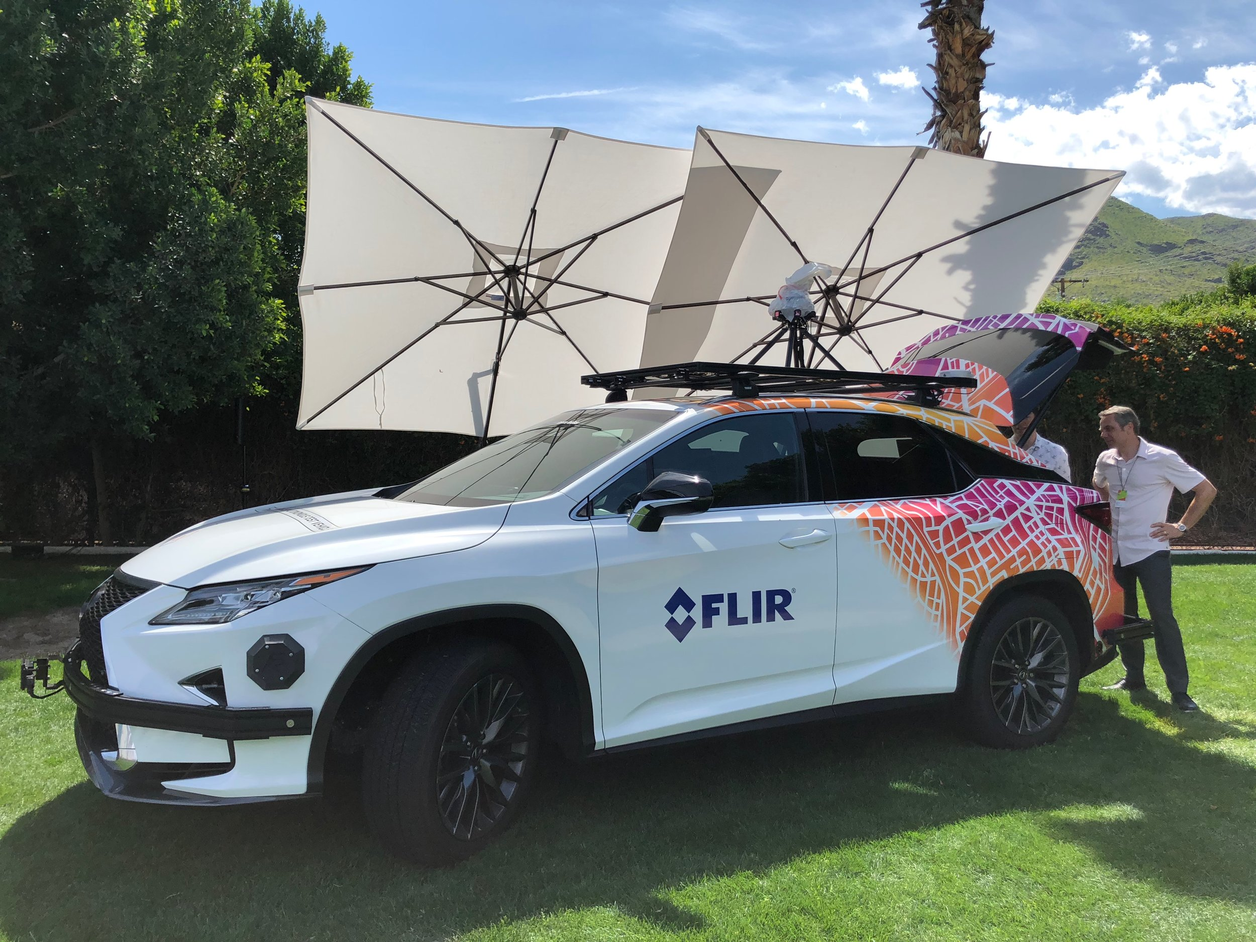 FLIR self driving systems.