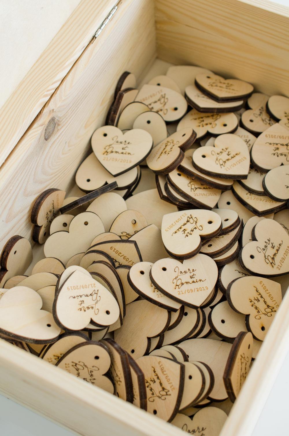 Cadeaux d'invités sur-mesure pour mariage