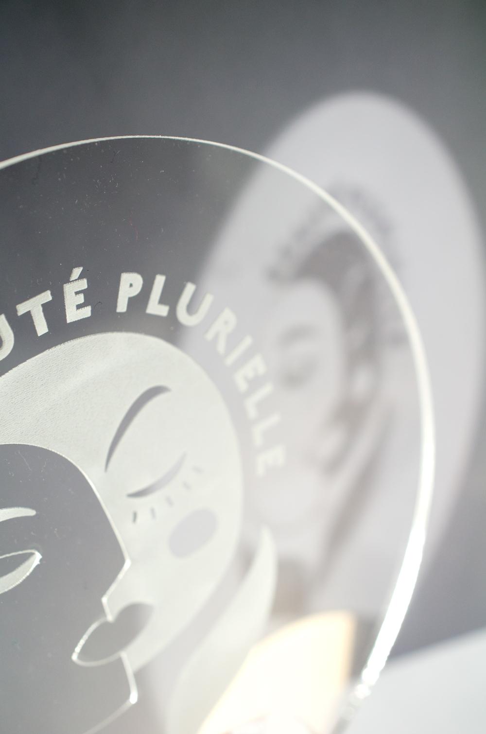 trophée sur-mesure gravé au laser