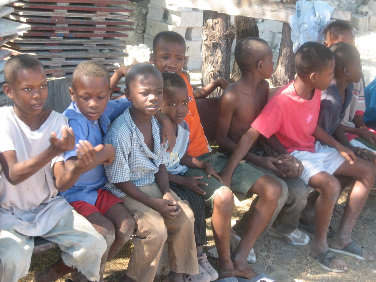 Orphans on bench.jpg