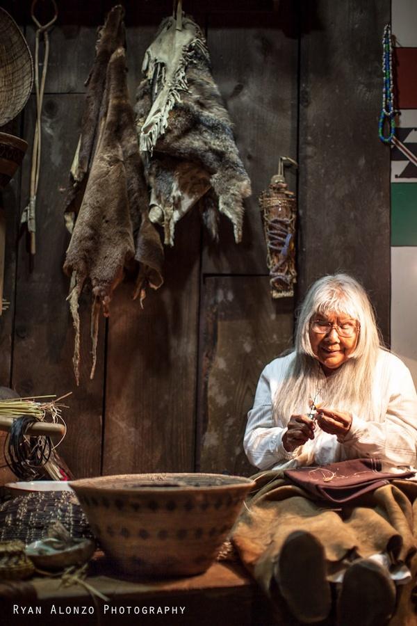 julia florence parker (born 1928) is a coast miwok-kashaya pomo basket weaver ~