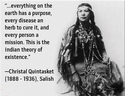 christal quintasket or mourning dove quote