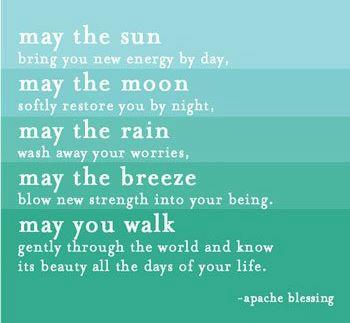 apache blessing ~