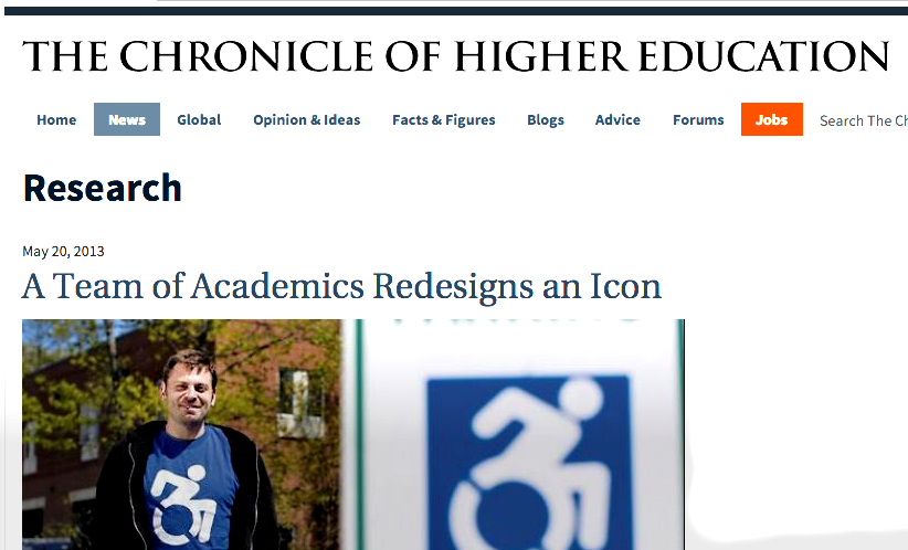 Chronicle of Higher Education 5/20/2013