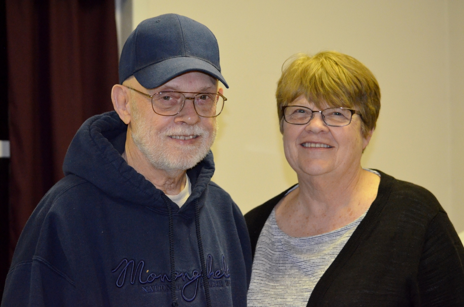 Don Wilhelm and Tammy Clifton at March 22 MCBA meeting