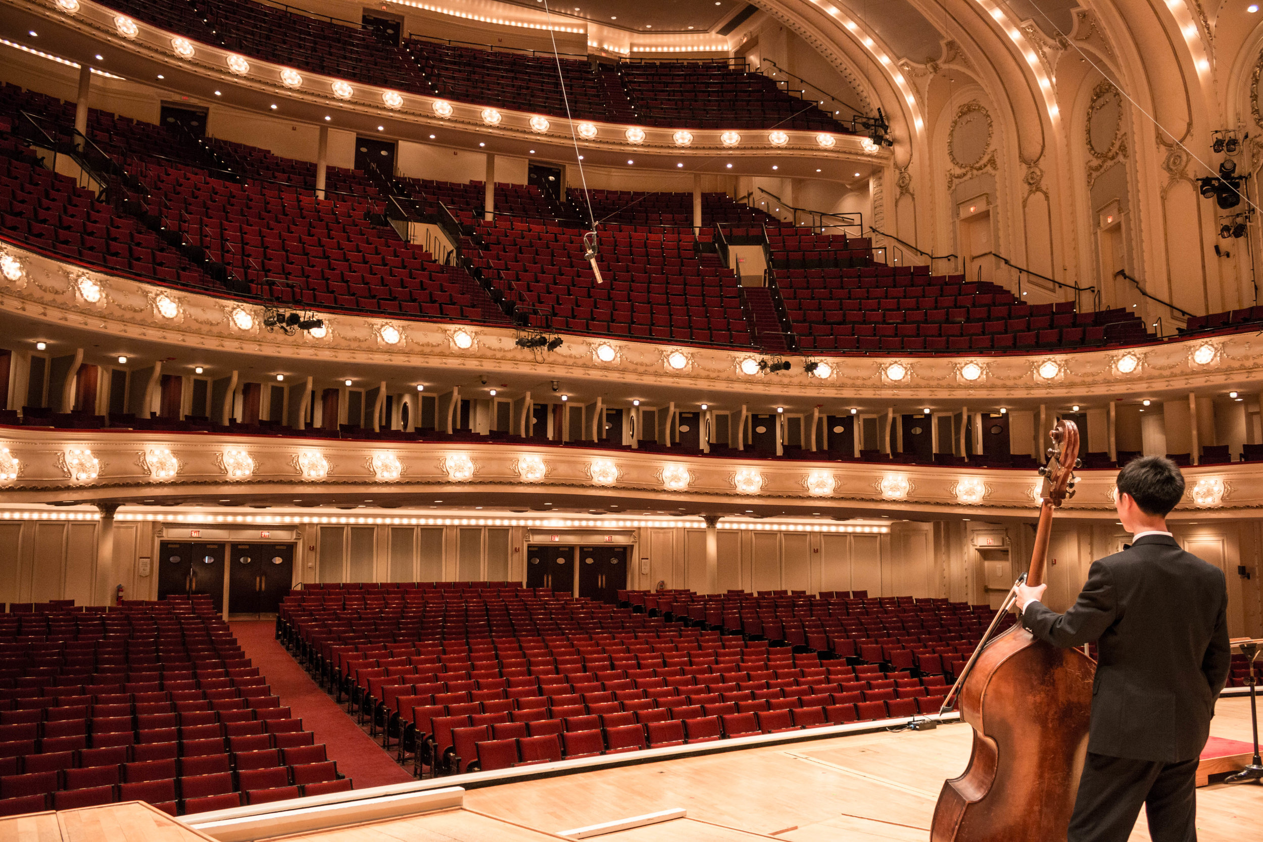 Shawn at Chicago Symphony Hall