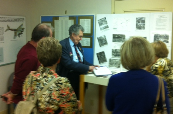 The Late Roy Taylor leads a tour, 2012