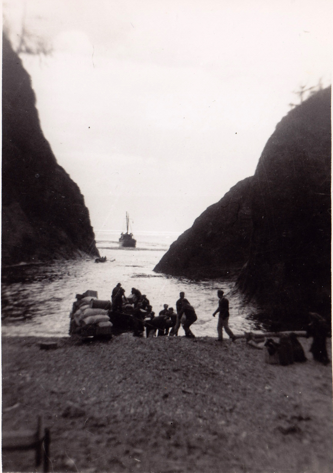 Supply Drop to Marble Island, BC, 1944