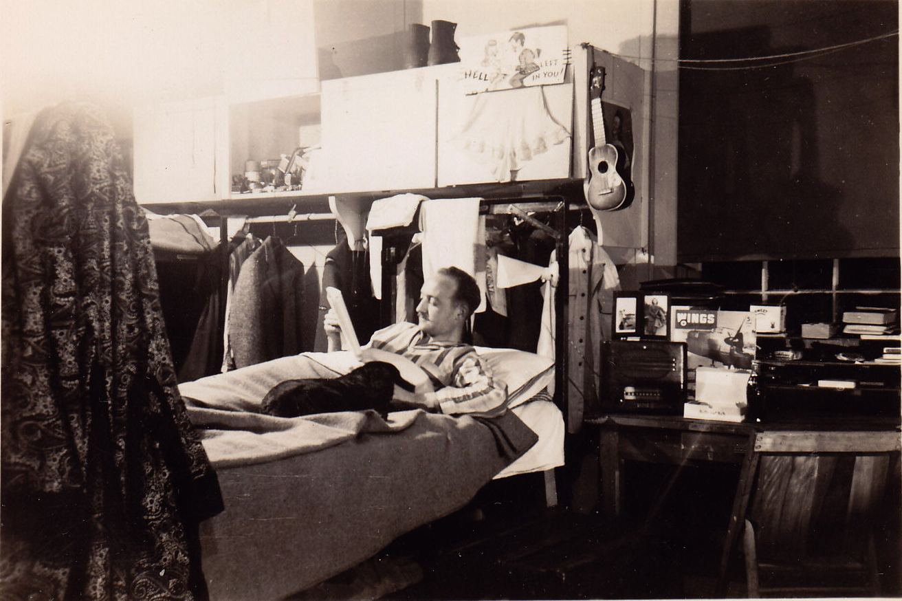 In Barracks, Marble Island, BC, 1944