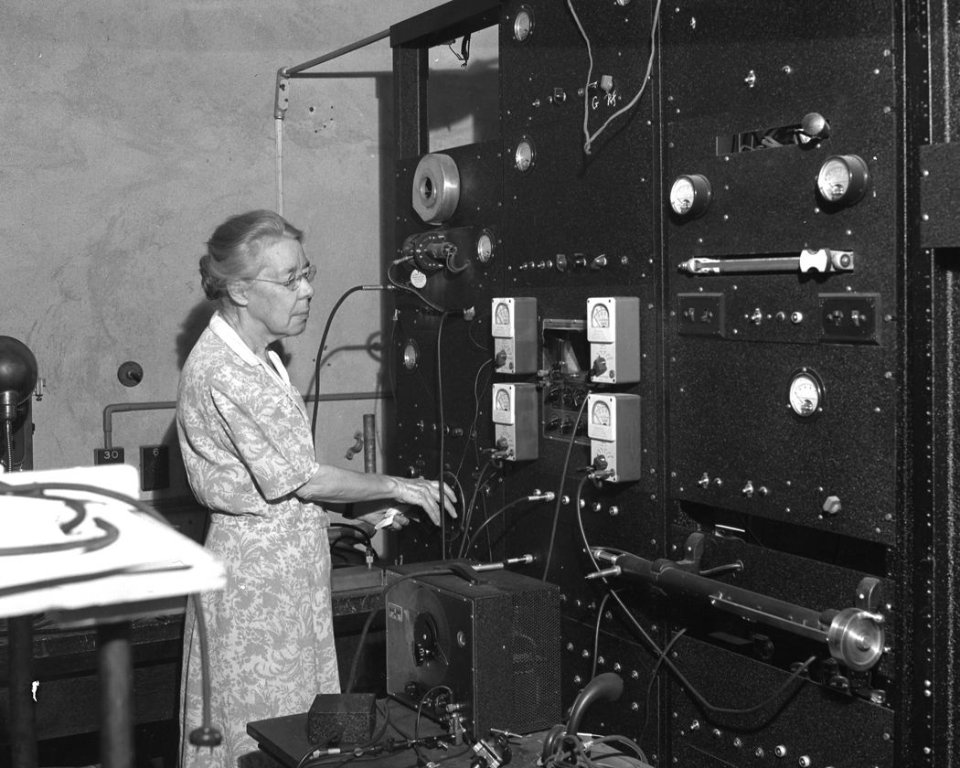 Dr. Elizabeth Laird, Microwave Radar Researcher, University of Western Ontario, August 1945