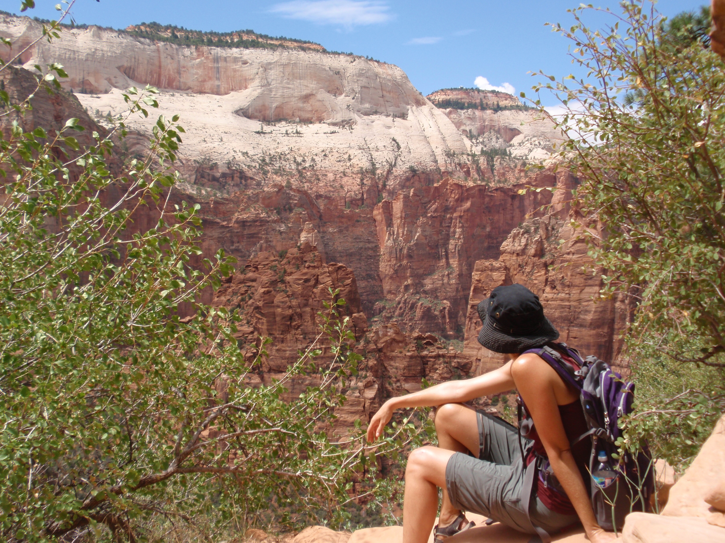 Finding inspiration in Zion NP