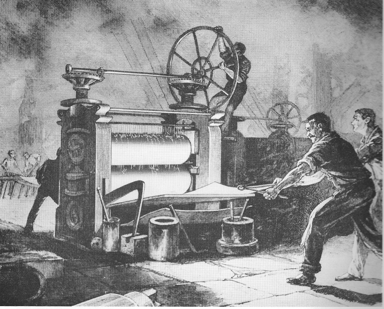 *Rolling mill pictured is not accurate size. (Ours is much smaller:))