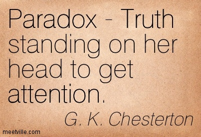 G.K. Chesterton is sort of awesome. Google him.