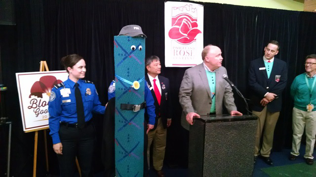 PDX Carpet was named the Grand Marshal of the 2015 Starlight Parade, March 20, 2015 (KOIN 6 News)