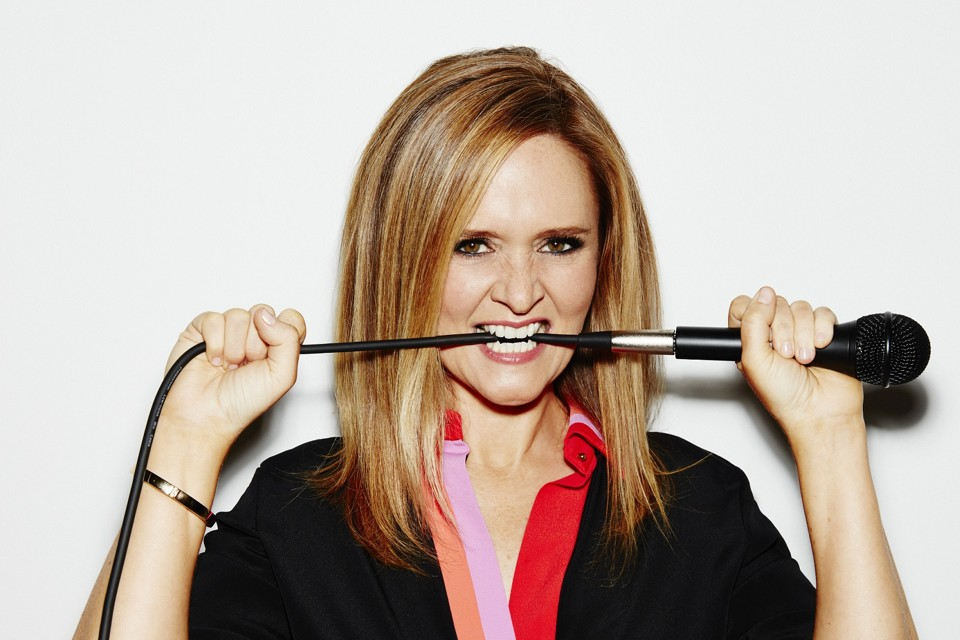 It is no doubt that Samantha Bee is comic genius, however in light of Bushman's work it makes me consider the role of cathartic comedy in culture.