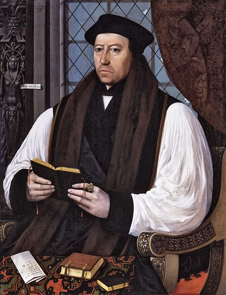 Clearly Cranmer was among the happiest of the reformers...