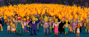 Angry mob from wikipedia