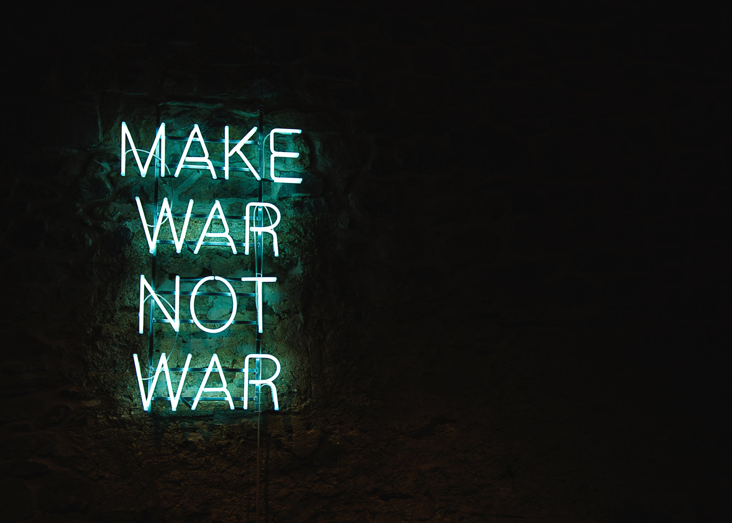 How can we make war not war?