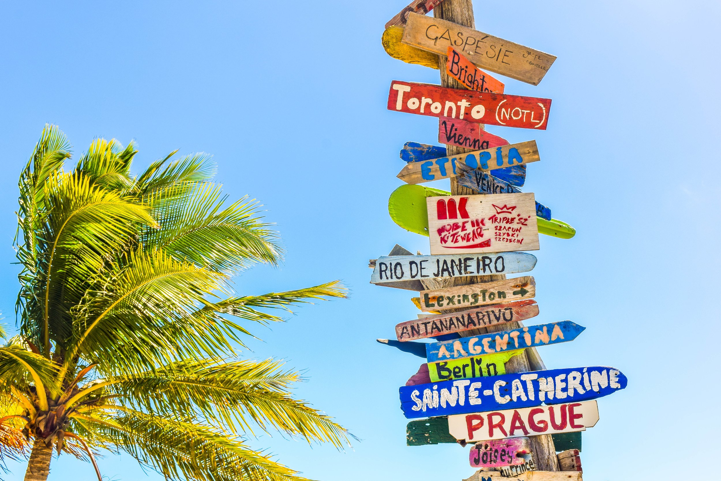 These signs give a 'trajectory' but there is much interpretation needed to arrive at Rio.  Photo by  Deanna Ritchie  on  Unsplash