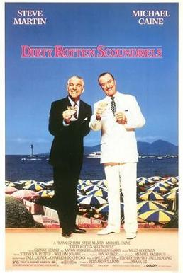 https://en.wikipedia.org/wiki/Dirty_Rotten_Scoundrels_(film)   - one of the greats of cinema