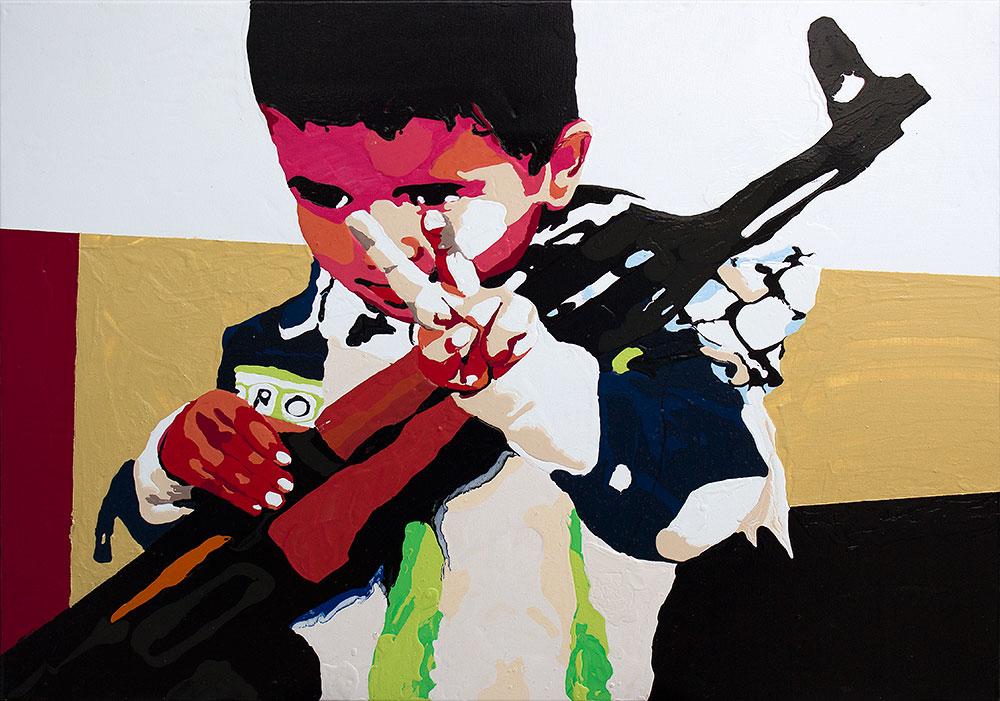 #261  acrylique sur toile 60x80 cm