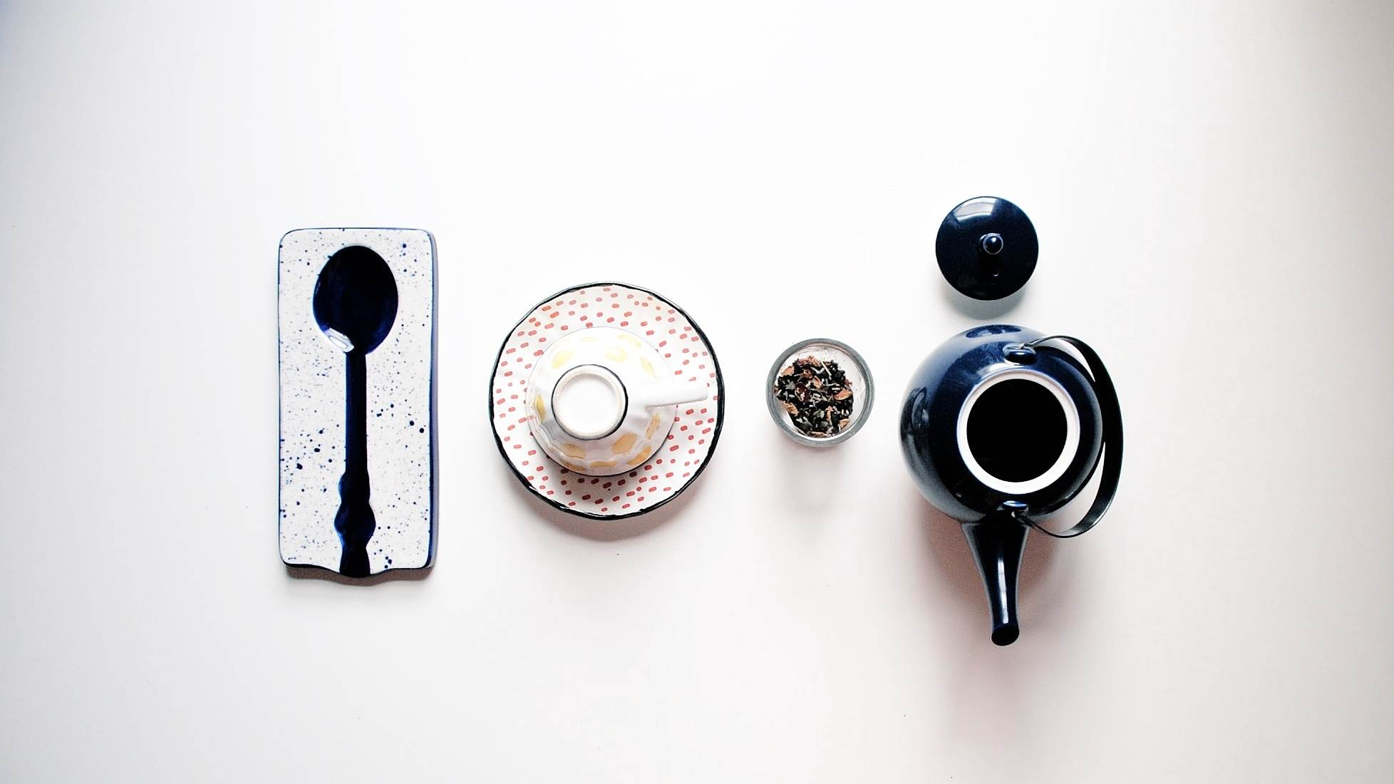 Each night, it's tea time for me.