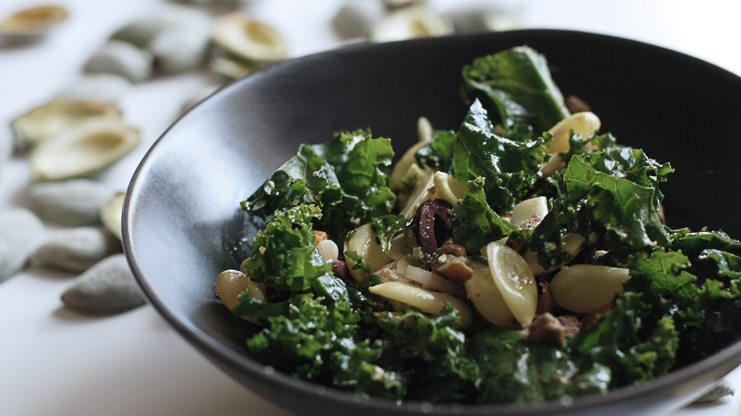 Green Almond Salad