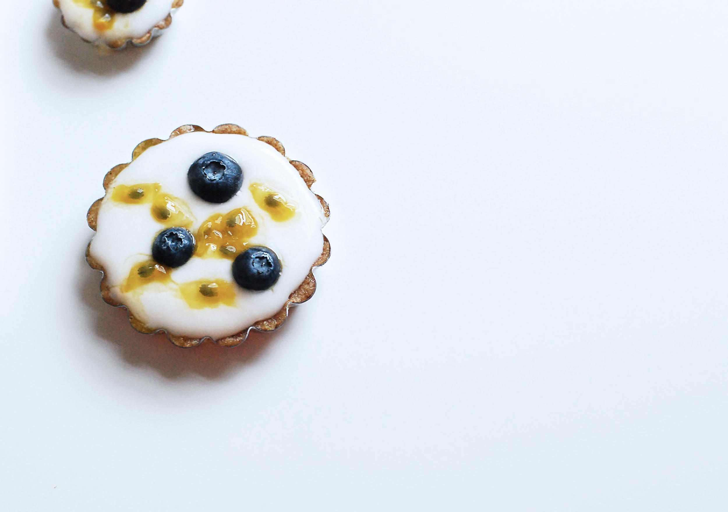 Vegan Gluten Free Blueberry Tart