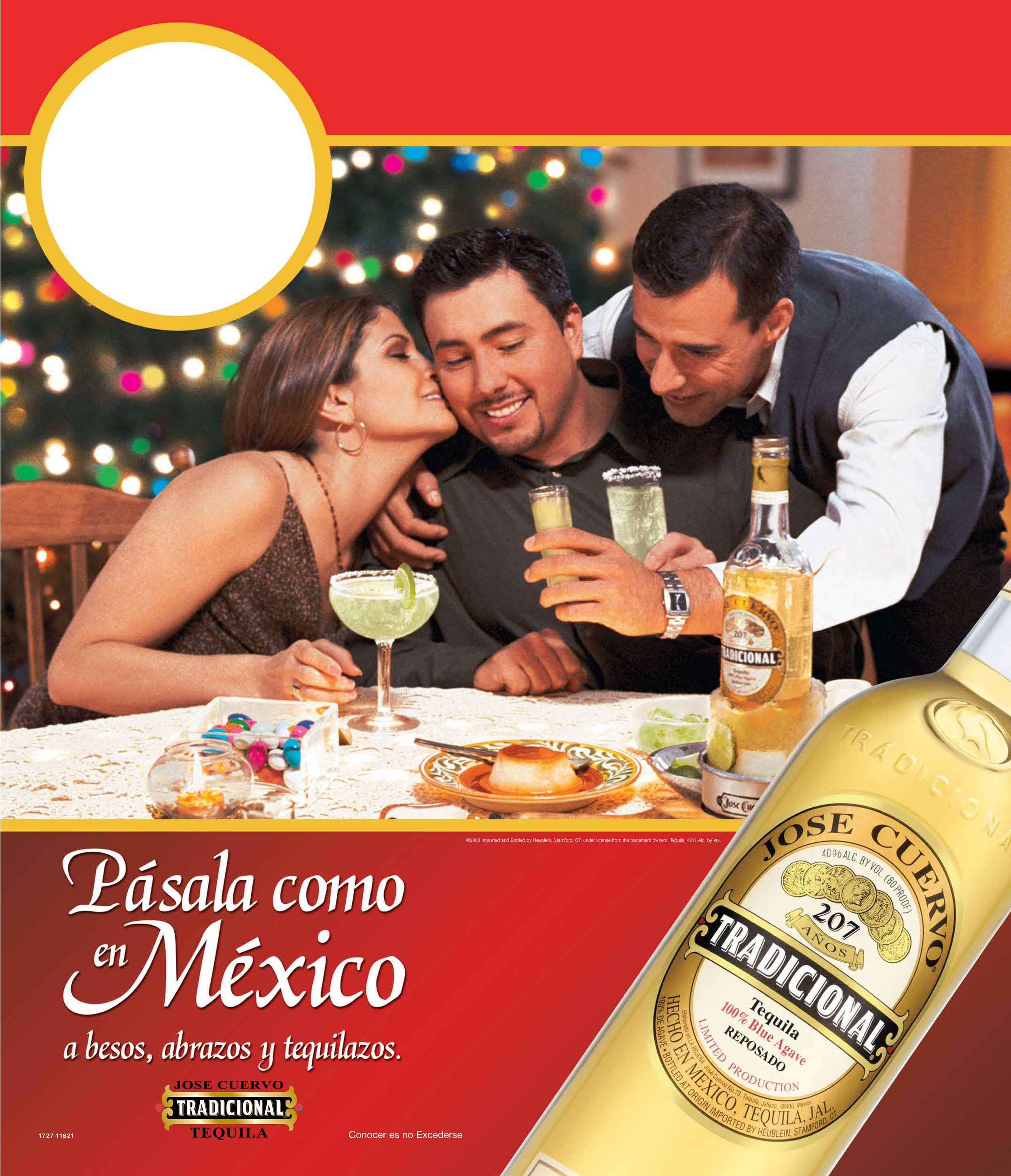 Tradicional Tequila Print Ad