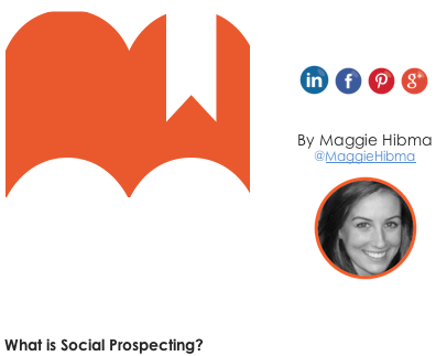 Customer Social Prospecting