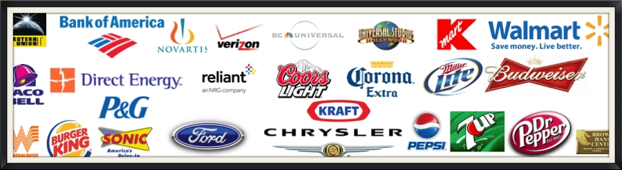 Experience with these Brands and Categories