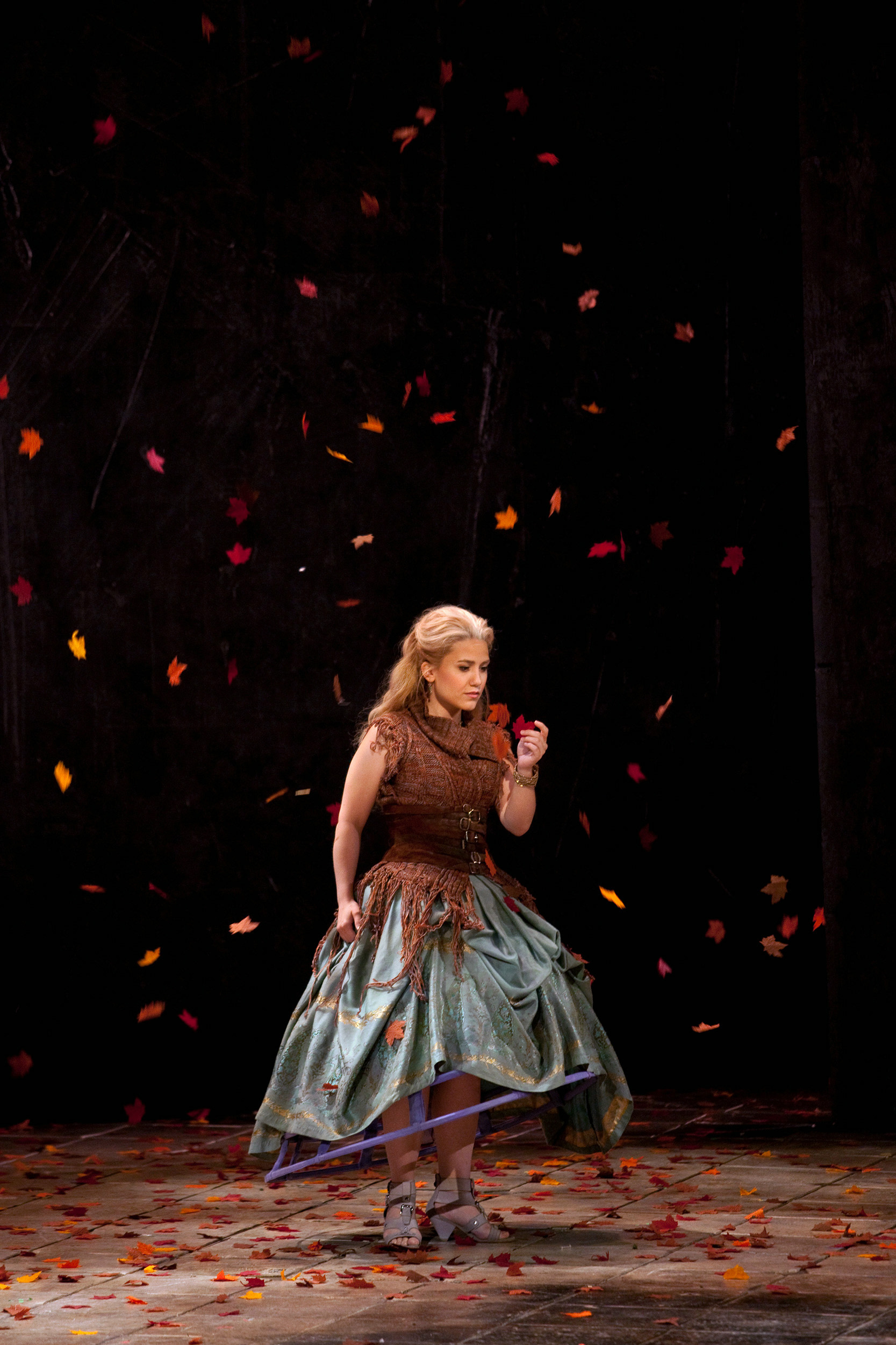 Joélle Harvey as Seleuce in the Glimmerglass Opera 2010 production of Handel's  Tolomeo .