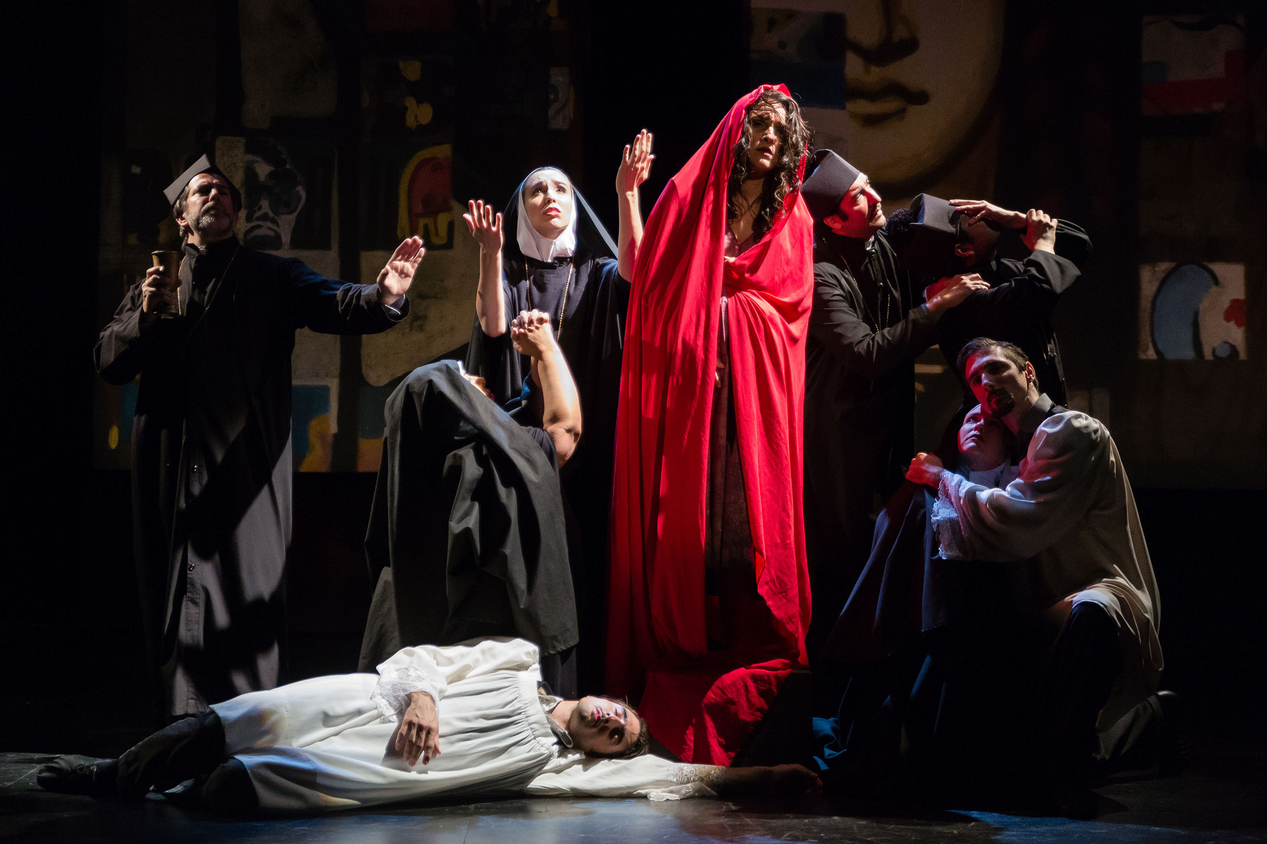 A scene from San Diego Opera's  Maria De Buenos Aires , 2018.