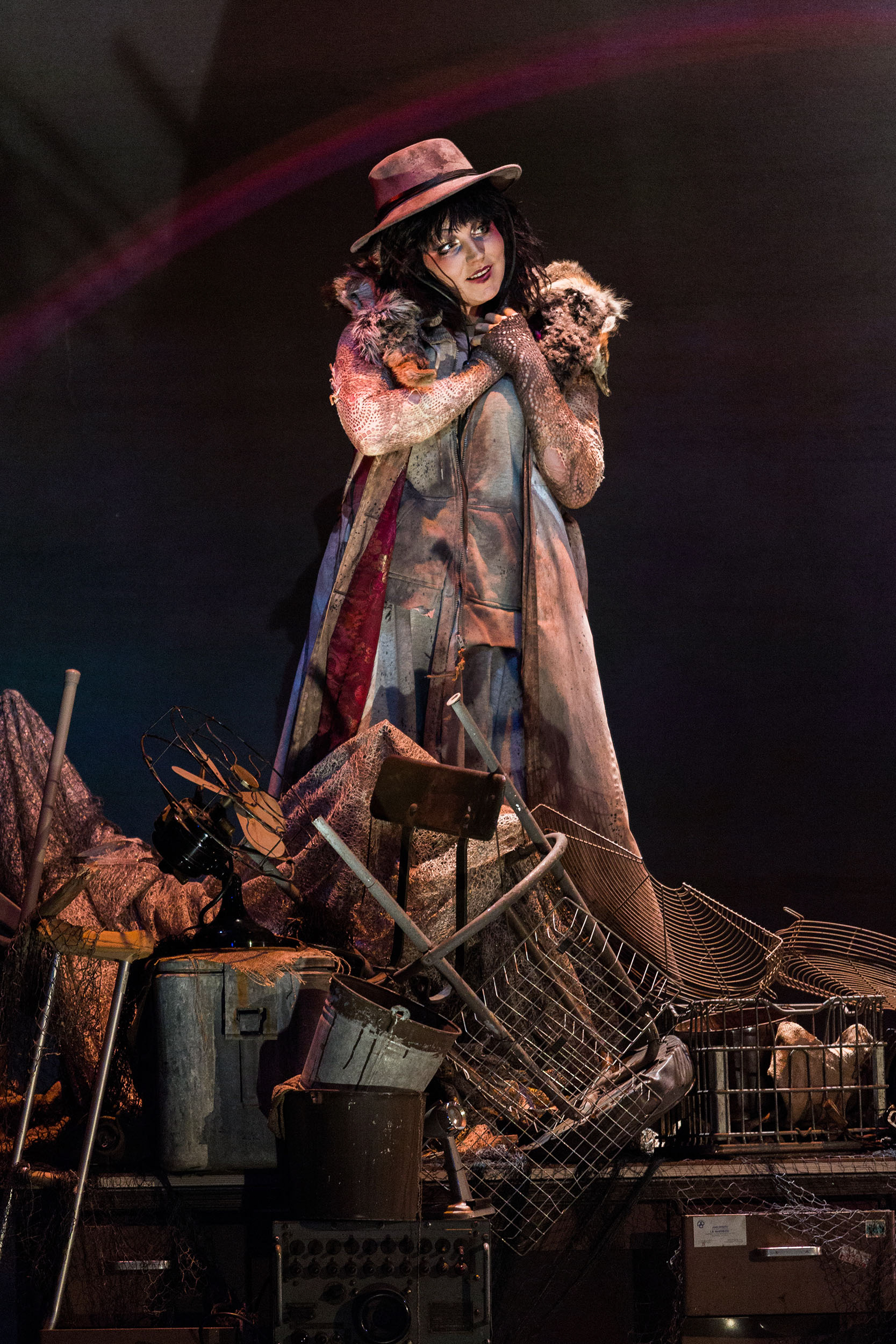 Mezzo-soprano Peabody Southwell as Carmen in San Diego Opera's  The Tragedy of Carmen , 2017.