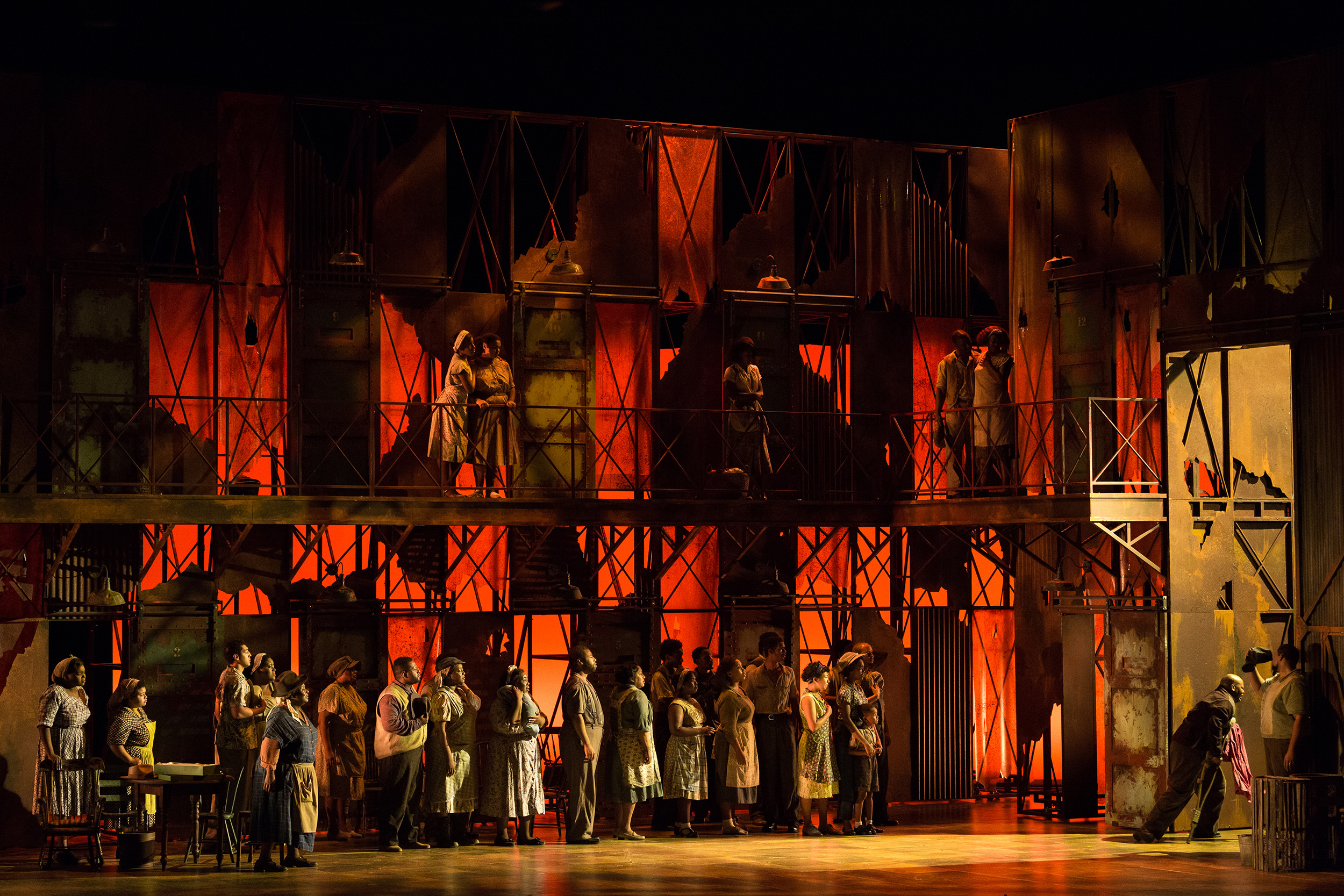 The Glimmerglass Festival's 2017 production of The Gershwins'  Porgy and Bess .