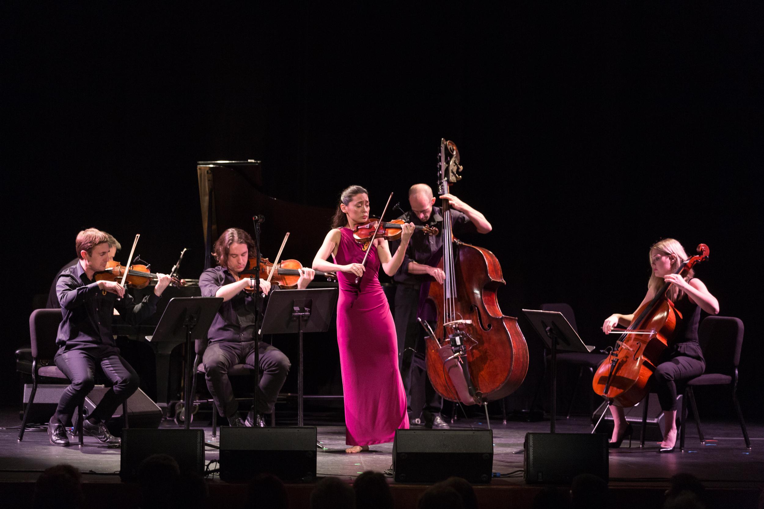 Lucia Micarelli . Presented by The California Center for the Arts, Escondido.