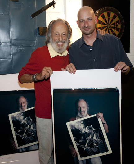 Herman Leonard and Tim Mantoani